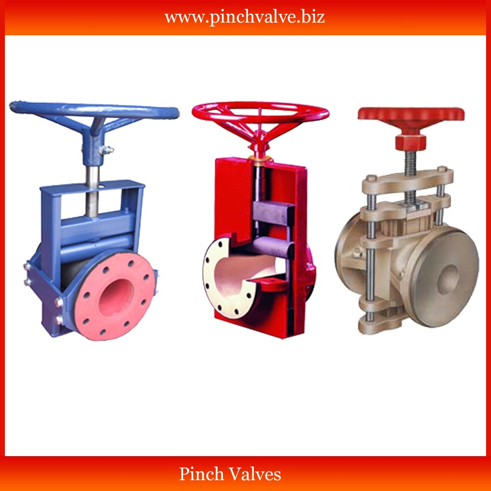 pinch valve manufacturer in ahmedabad