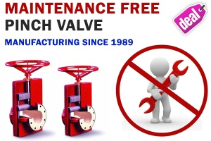 pinch valve South American Countries